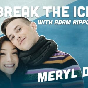 Meryl Davis Gives Me the Secret to Becoming an Olympic Champion | Break the Ice with Adam Rippon