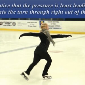 88. One Foot Turns: Backward Inside Counter + Skating Tip 2