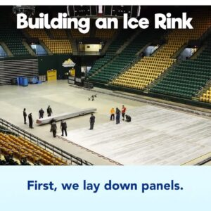 Building an Ice Rink - How We Do It | Disney On Ice