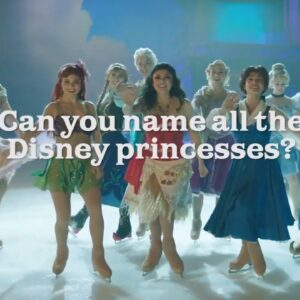 Can You Name All the Disney Princesses?