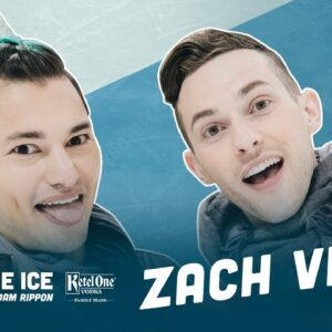 Zach Villa Gives me the Dirt on American Horror Story | Break the Ice with Adam Rippon