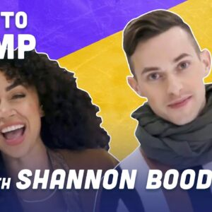 How To Pump While Ice Skating with Shan Boodram | Adam Rippon
