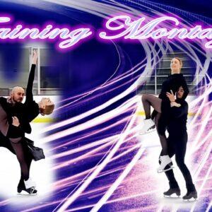 Figure Skating Training Montage