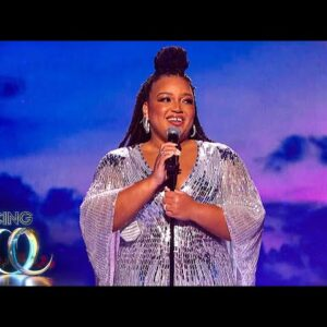 Marisha Wallace performs a dazzling rendition of Reflection | Dancing on Ice 2021