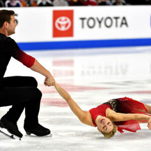 scimeca knierim and frazier lead pairs in debut at u s nationals