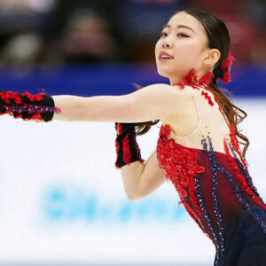 rika kihira takes lead to defend her crown at japanese nationals