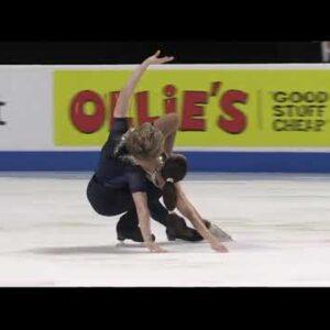 Katarina DelCap & Ian Somerville 2021 USFS Championships in Las Vegas Free Dance