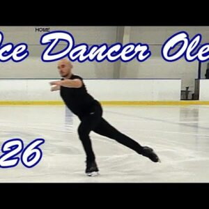126. Forward Crossovers Under Strokes Exercise