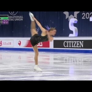 Dance monkey on ice - Loena Hendrickx