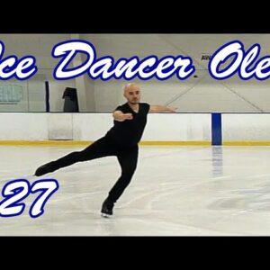 127. Forward Crossovers Chasse Exercise #pnysportsarena #figureskating #iceskating #icedancing