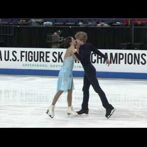 Katarina DelCamp and Ian Somerville 2020 USFS Championships Free Dance