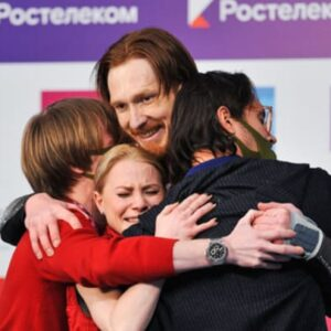 maxim trankov i dont think tarasova morozov will be able to work with zueva before the games i will they are unlikely