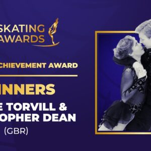 Acceptance Speech | Jayne Torvill and Christopher Dean (GBR) | ISU Skating Awards 2021