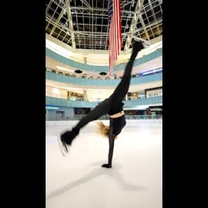 Amber Glenn - When brilliance hits a million followers! #shorts #iceskating