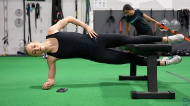 Ashley Cain-Gribble, Off-Ice Strength and Conditioning (July 2021)