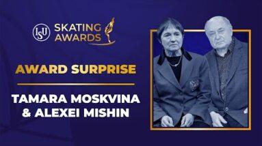 Award Surprise, Tamara Moskvina & Alexei Mishin | #ISUSkatingAwards 2021