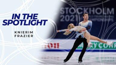 In The Spotlight: Alexa Knierim & Brandon Frazier (USA) | #FigureSkating