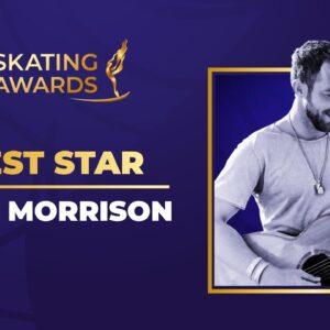 Guest Star James Morrison | Anastasia Mishina & Alexander Galliamov (RUS) | ISU Skating Awards 2021