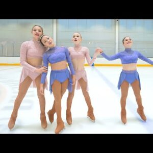 Evermore (Taylor Swift) skated to by American Ice Theatre Boston, Junior Company (2021)