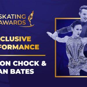 Madison Chock & Evan Bates Exclusive Performance | #ISUSkatingAwards 2021