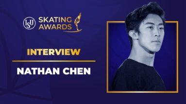 Nathan Chen Interview | #ISUSkatingAwards 2021