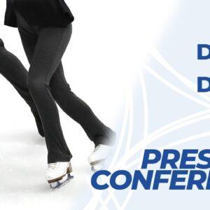 Press Conference: Ice Dance Free Dance | ISU #WorldFigure Skating Championships | Stockholm 2021