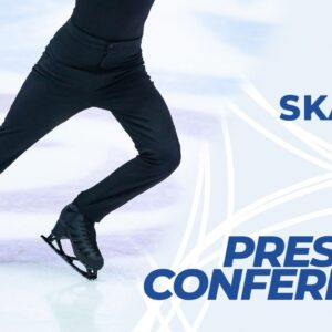 Press Conference: Men Free Skating | ISU #WorldFigure Skating Championships | Stockholm 2021