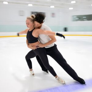 Skating to 'Ghost' & 'Unchained Melody' - Lily Hensen & Nathan Lickers 2021-22 Senior Free Dance