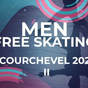 Casper Johansson SWE Men Free Skating | Courchevel2 - 2021