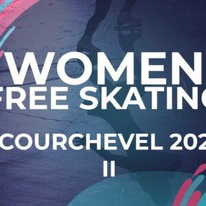 Chiara Hristova BUL Women Free Skating| Courchevel2 - 2021