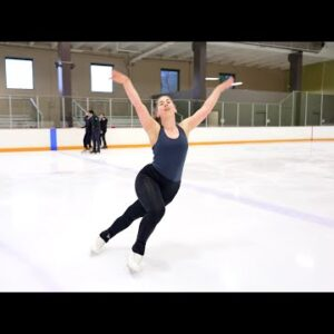 "Kelly Arnett, Junior Free Dance 2021-22, ""Angel by the Wings/Helium"" - Sia"