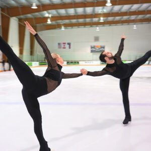 The White Crow - Ashley Cain-Gribble & Timothy LeDuc - 2021-22 Senior Short Program #iceskating