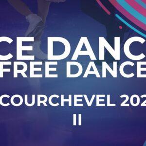 LIVE 🔴 | Ice Dance Free Dance  | Courchevel  2  -  2021