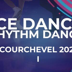LIVE 🔴 | Ice Dance Rhythm Dance | Courchevel 2 -  2021