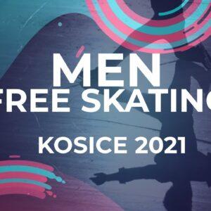 LIVE 🔴 | Men  Free Skating | Kośice - 2021