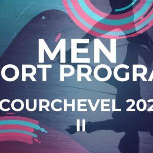 LIVE 🔴 | Men Short Program | Courchevel 2 - 2021