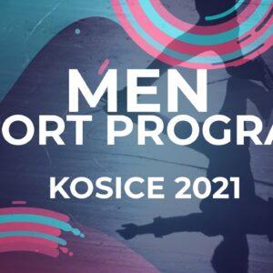 LIVE 🔴 | Men Short Program | Kośice - 2021