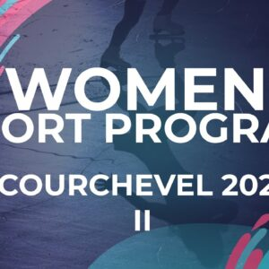 LIVE 🔴 | Women Short Program   | Courchevel 2  -  2021