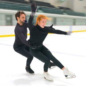Midnight Blues with Olivia Smart and Adrian Diaz Brochud, Spanish Ice Dance Team, 2021-22 RD