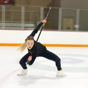 "Sonja Hilmer - ""Black Panther"" Show Routine #iceskating"