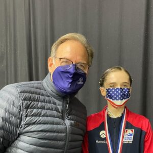 Winner Interview Isabeau Levito USA with Ted Barton