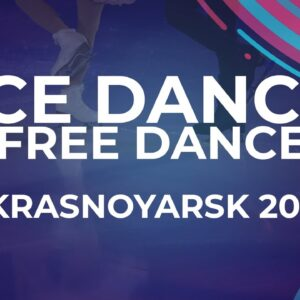 Angela LING / Caleb WEIN USA   Ice Dance Free Dance   Krasnoyarsk Week 4 #JGPFigure