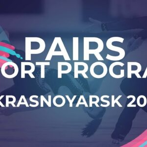 Ekaterina STORUBLEVTCEVA / Artem GRITSAENKO RUS | PAIRS SHORT PROGRAM | Krasnoyarsk Week 4 #JGPFigur