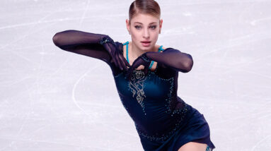alena kostornaia tries to perform her fp in the style of patrick chan