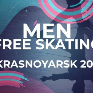 Ali Efe GUNES TUR | Men Free Skating | Krasnoyarsk - 2021 #JGPFigure