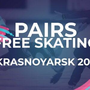 Anastasiya Sazonova / Jamshid Tashmukhamedov UZB | Pairs Free Skating | Krasnoyarsk - 2021 #JGPFigur
