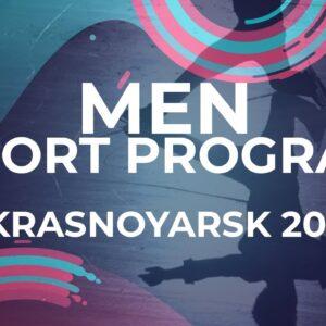 Andrei ANISIMOV RUS | MEN SHORT PROGRAM | Krasnoyarsk Week 4 #JGPFigure