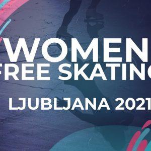 Aya HATAKAWA GER | WOMEN FREE SKATING | Ljubljana Week 5 #JGPFigure