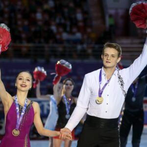 boikova and kozlovskii apparently we are really top level pair after the bronze at worlds no one congratulated us everyone said what a pity
