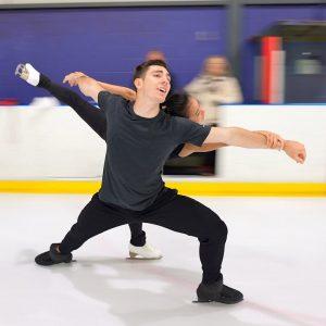 "@Dean Lewis ""Waves"" skated by Canadian pair team Lori Ann Matte & Thierry Ferland, 2021 Long Program"